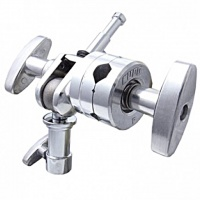 KUPO KCP-230 2.5'' Grip Head with a Swivel 16mm Baby Spigot-Silver. Крепежная головка