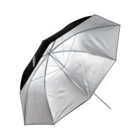 HENSEL Umbrella Ultra Silver Ø 105 cm. Зонт серебристый